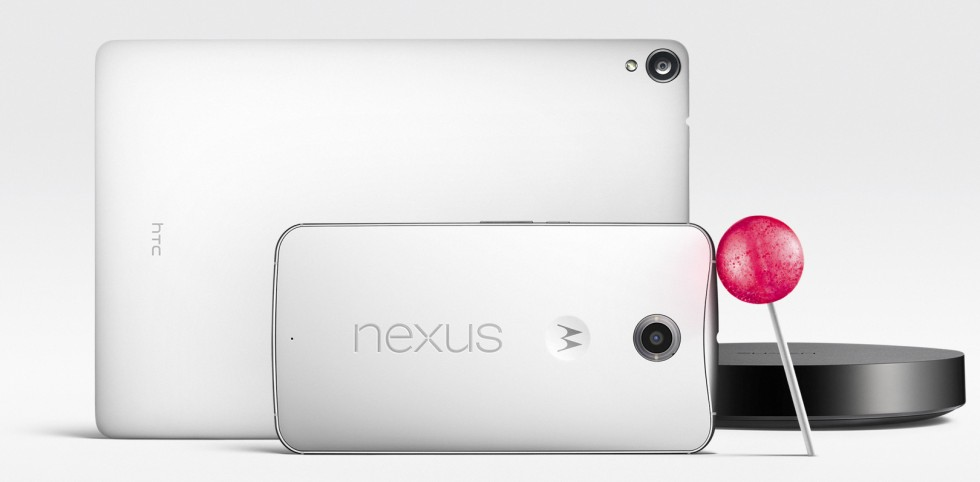 Google announces Nexus 6, Nexus 9, Nexus Player, and Android 5.0 Lollipop