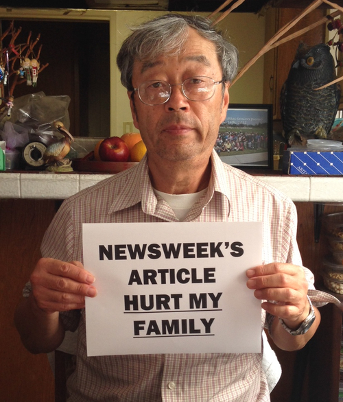 Dorian Nakamoto, fingered as Bitcoin creator, wants to sue Newsweek