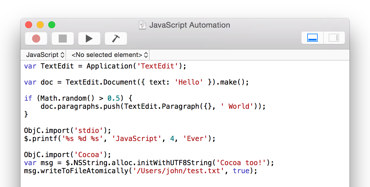 Remember, the application is called <i>Script</i> Editor, not AppleScript Editor.