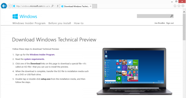 Windows 10 beta now available to download—time to test the new Start menu