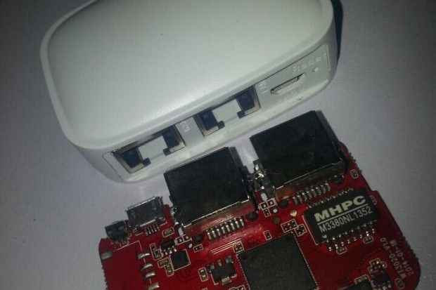 The Invizbox Tor router hardware—the same as Anonabox, but with truth in advertising.