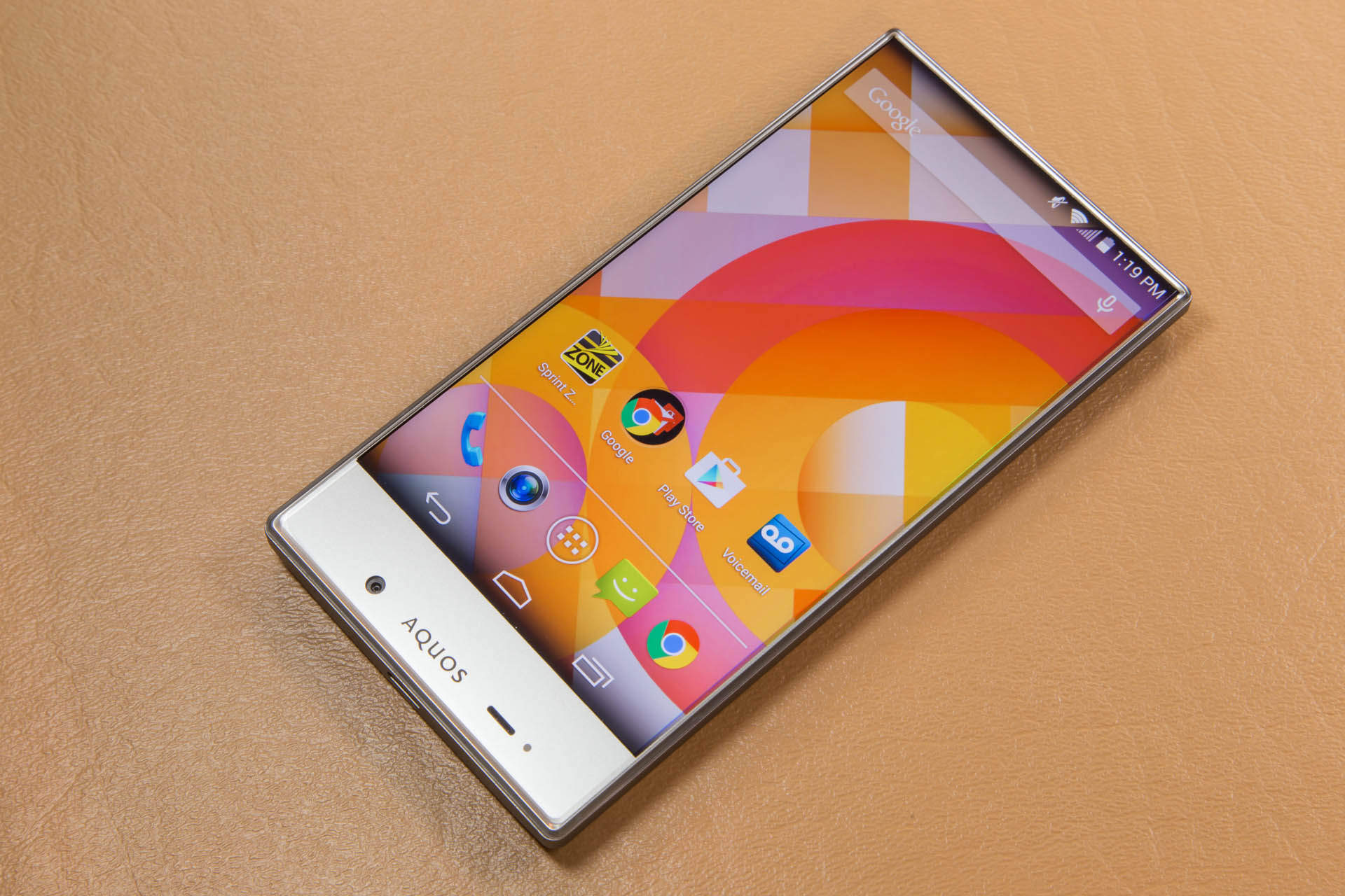 Sharp Aquos Crystal A 240 Smartphone That Out Designs Most Flagships Ars Technica