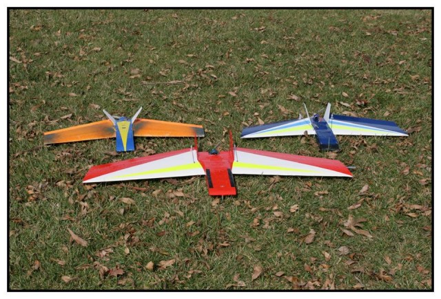 Raphael Pirker's unmanned aircraft was very similar to these RiteWings planes.