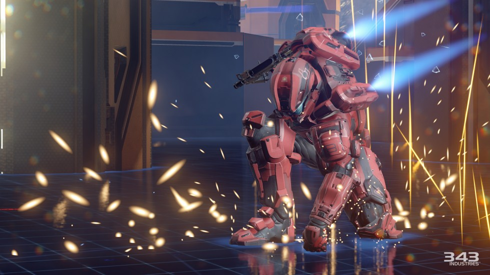 No, that's not <em>Halo 5</em>'s take on The Thinker, but its awesome new ground-pound move. Prepare to do that one a lot.