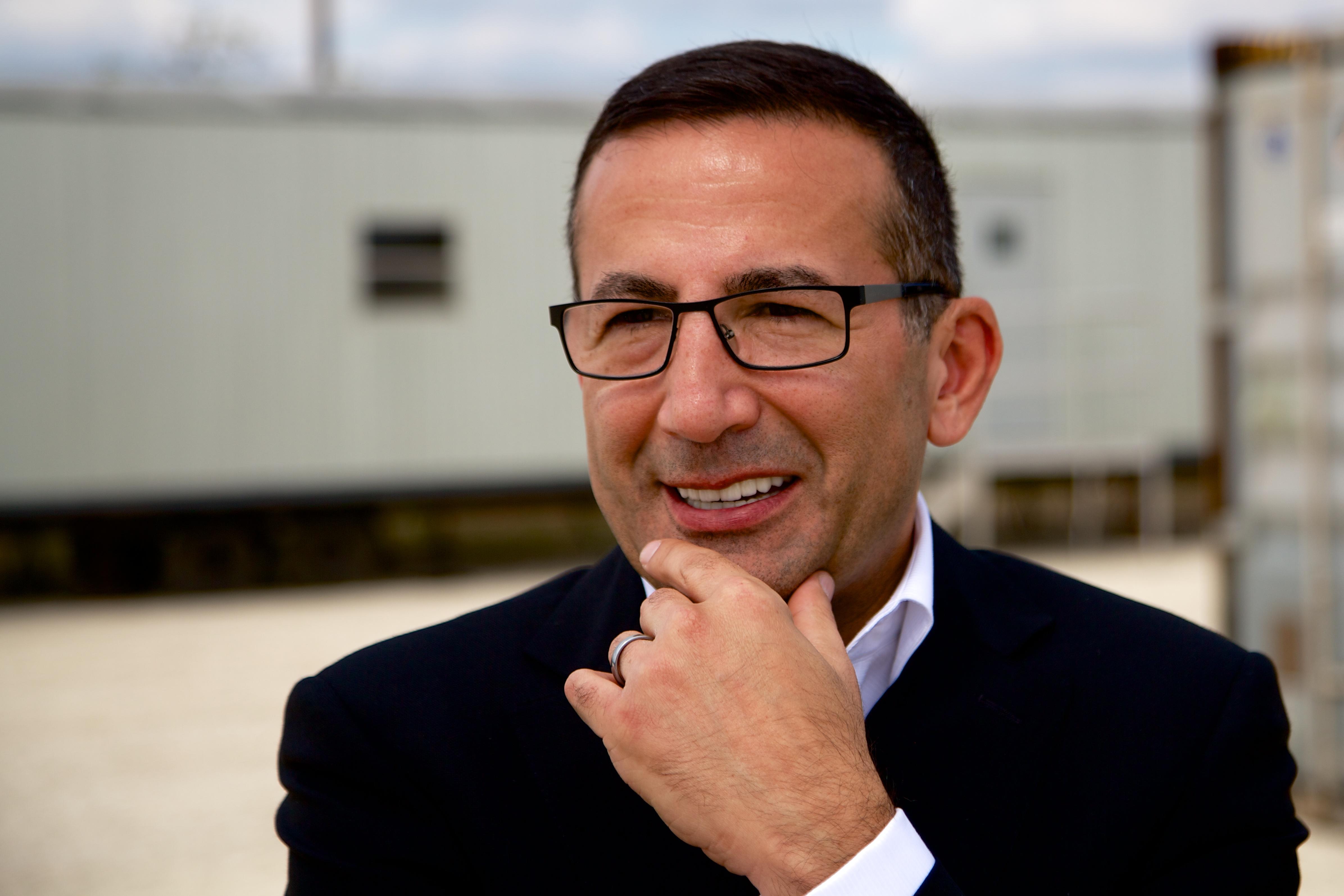 CTO Shey Sabripour.