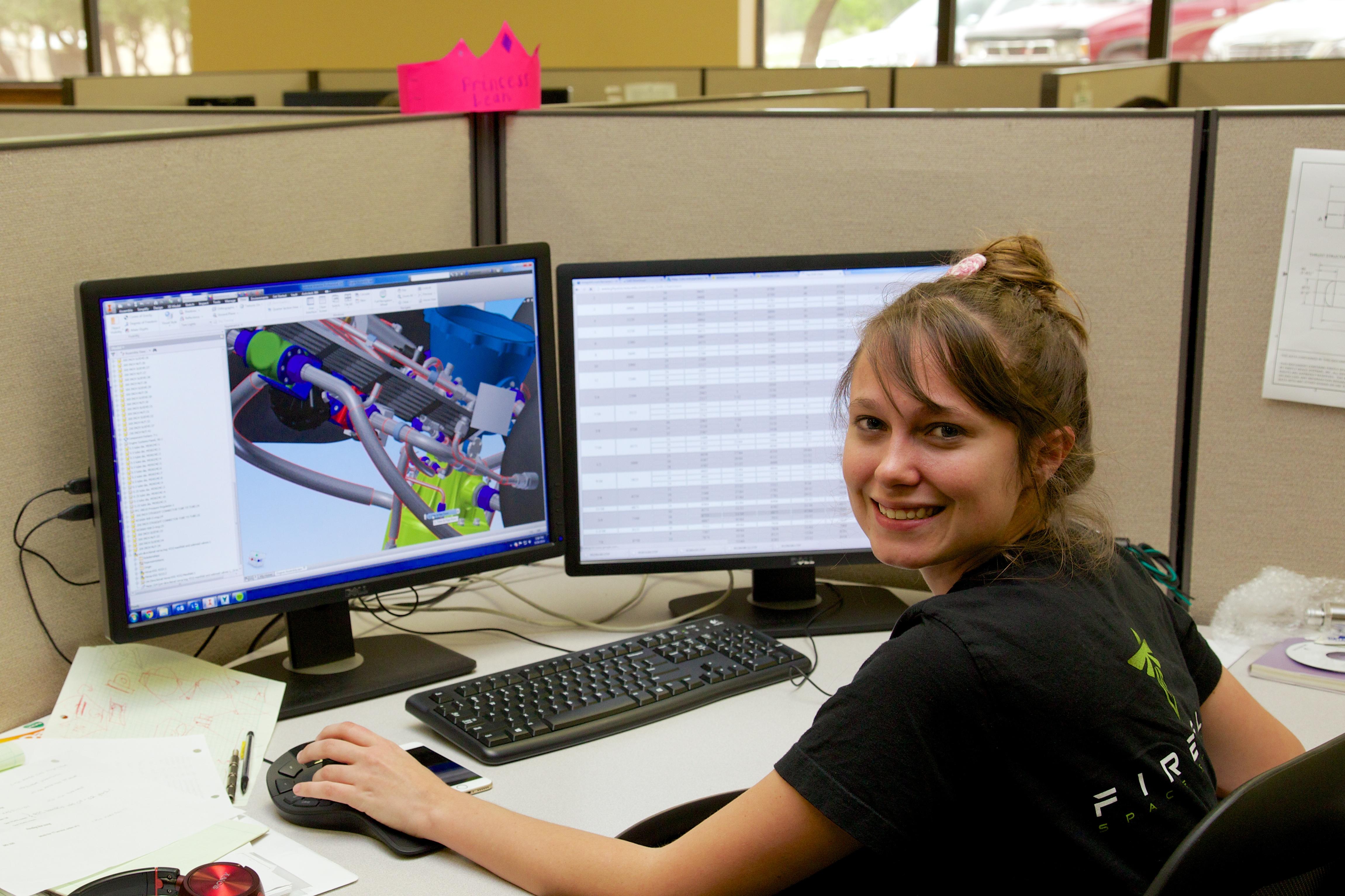 Leah Turner, associate design engineer.