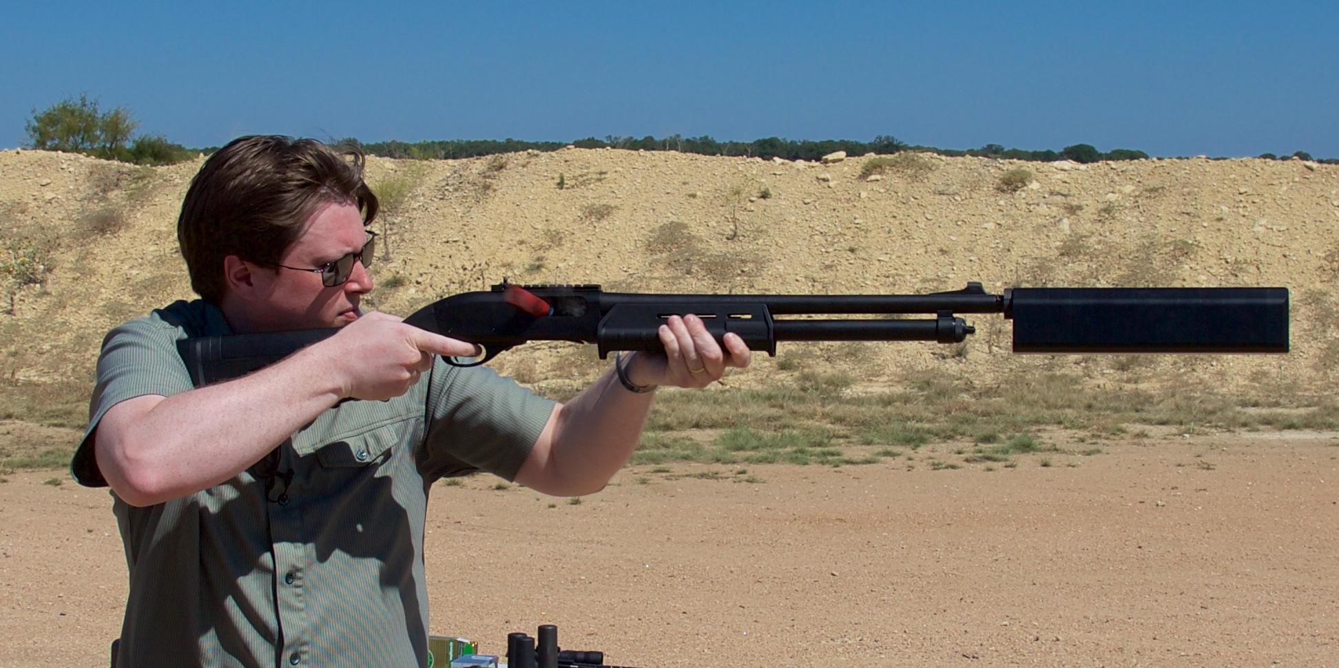 ARES Defense FightLite Industries STEP-22 Silenced Pistol (courtesy  ammoland.com)