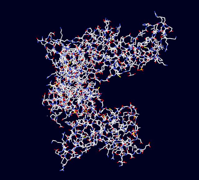The VP35 domain that blocks the immune system's interferon response.