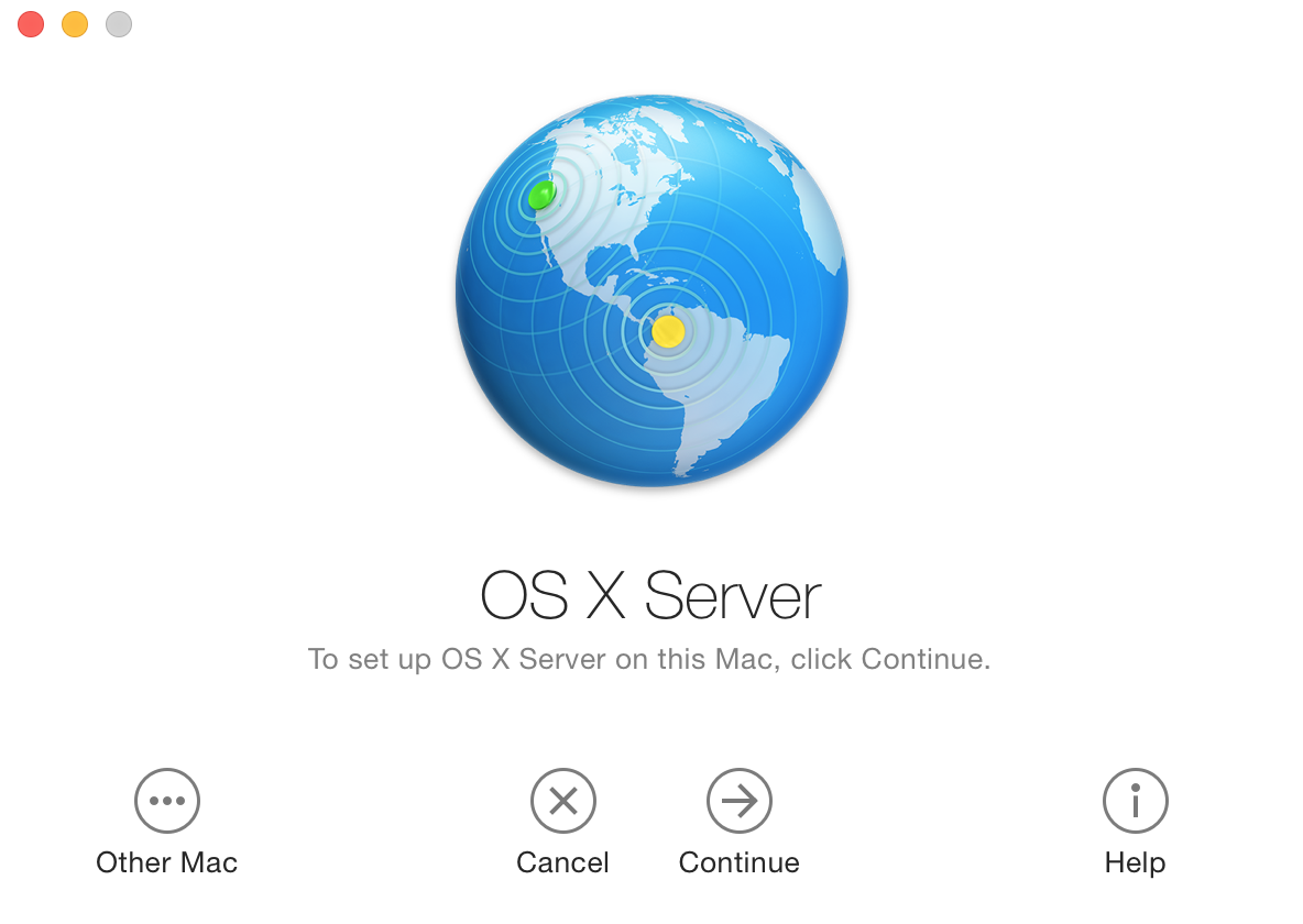 Ways to use your Mac server
