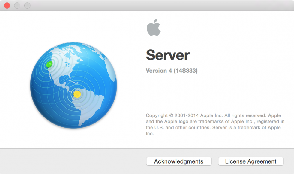 Welcome to Yosemite Server.