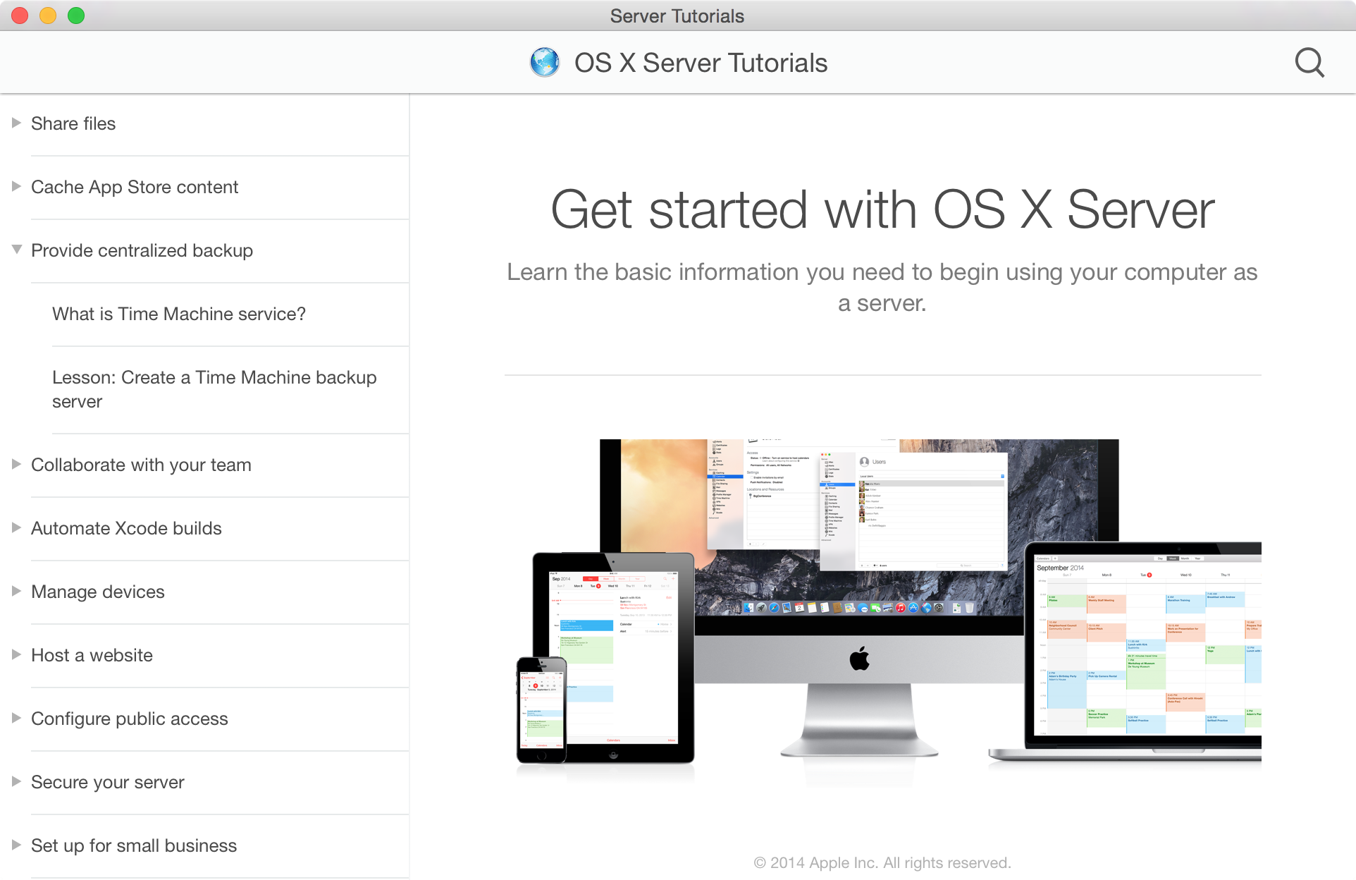 The OS X Server Tutorials are a good place to get started.