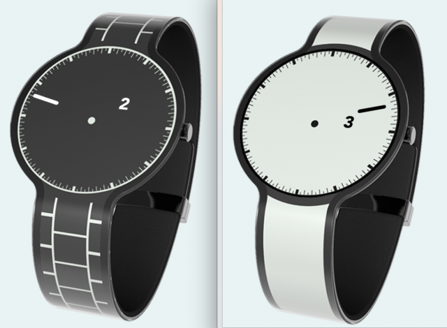 Sony lifts veil off 2015 e-ink watch line, other e-ink wearables