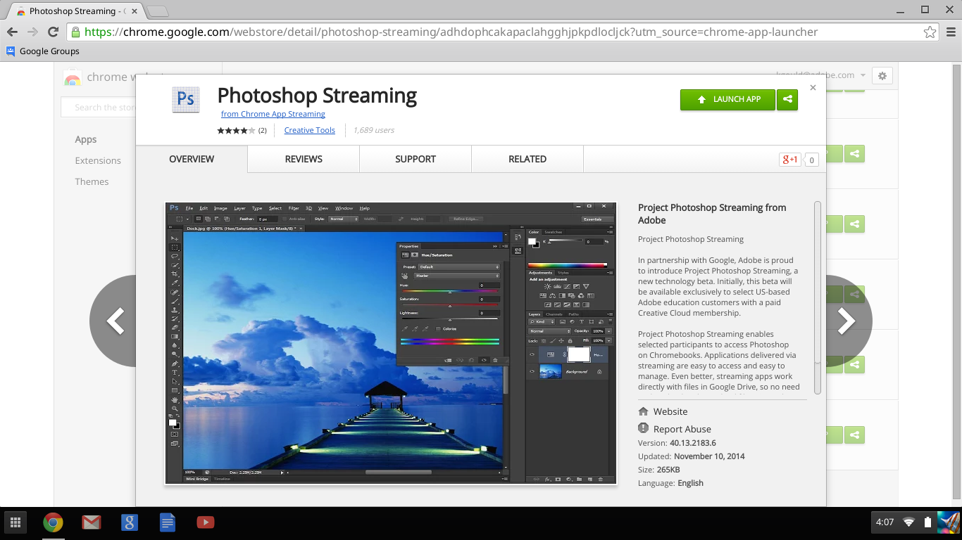 adobe streaming