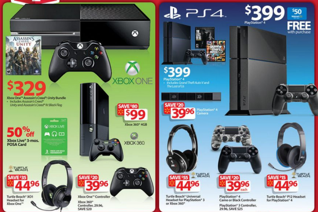 Get rare deals on console hardware and accessories this Black Friday