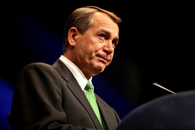 John Boehner at 2012 CPAC conference.