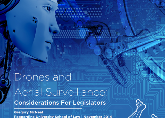 Don't blame the robots, says law professor Gregory McNeal—instead, focus on the activity of surveillance itself.