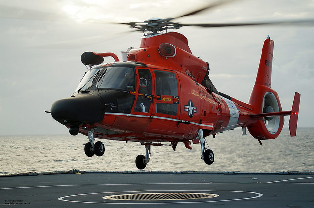 US Coastguard HH-65C Dolphin Helicopter