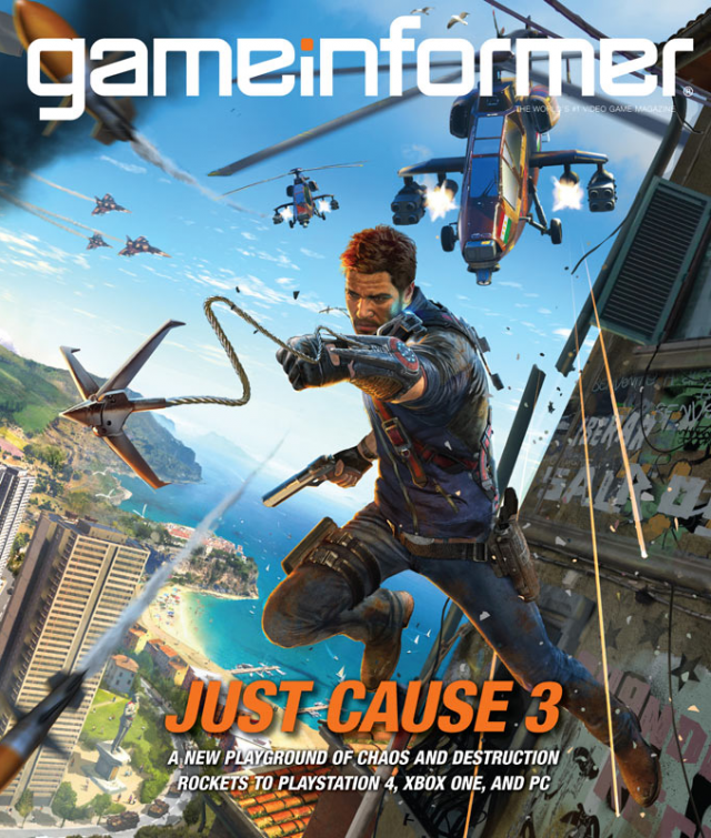 Just Cause 3 announced for PC, PS4, and Xbox One in 2015