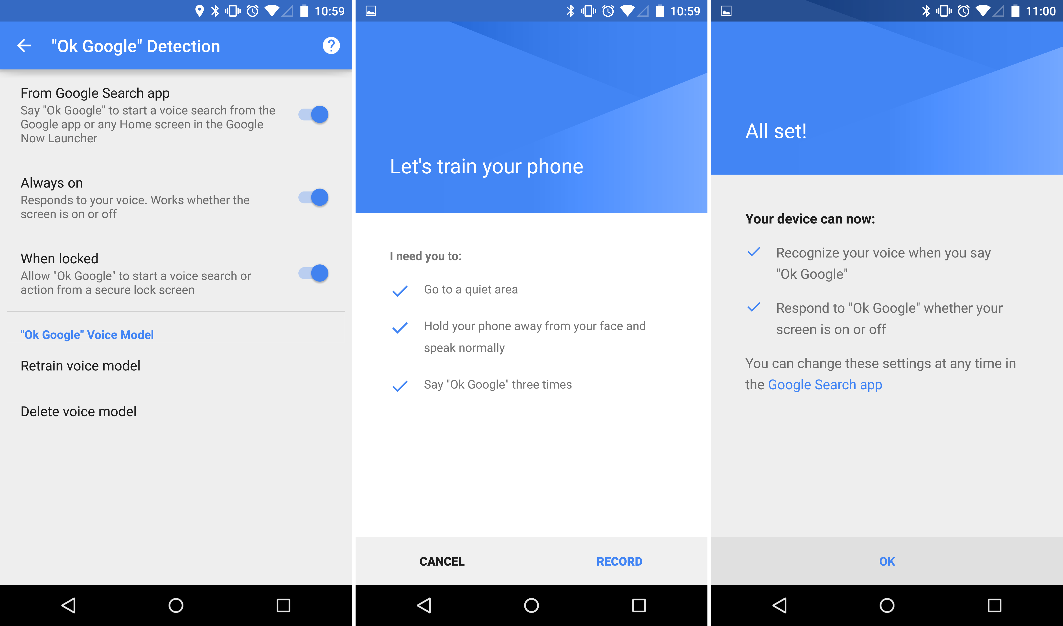 Google voice themes for android - Enlarge