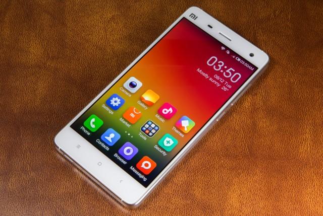 Xiaomi's flagship, the Mi4.