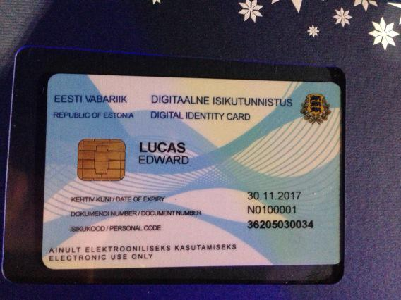 "Estonia wants to give us all digital ID cards, make us ""e ..."