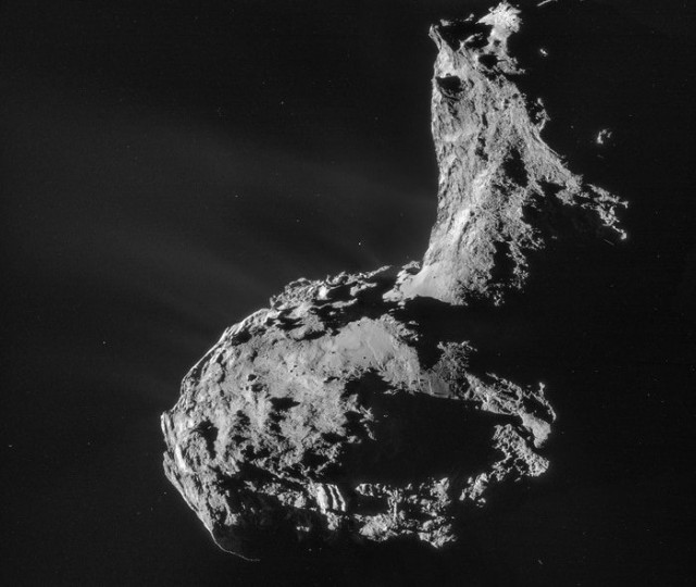 Early Rosetta data causes rethink of where Earth got its water