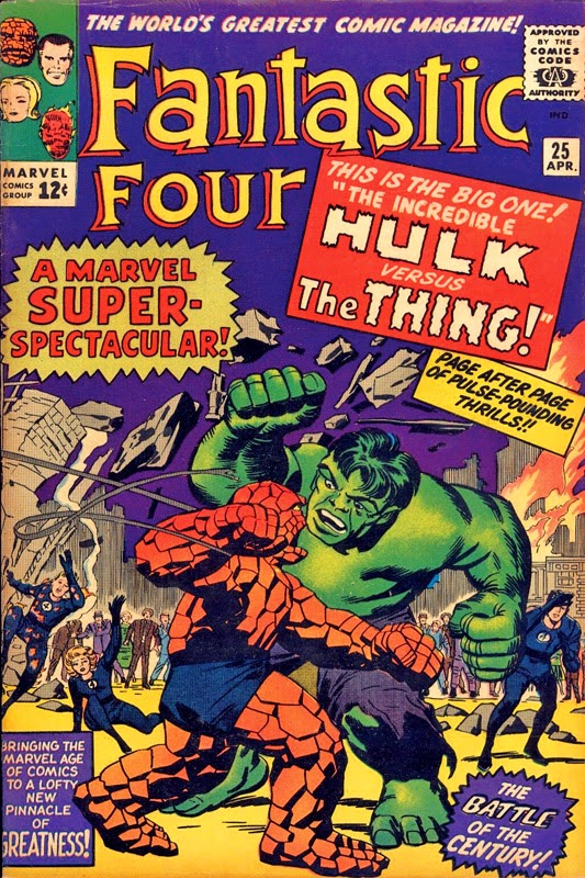 First presented in Fantastic Four #25, 1964. By Stan Lee and Jack Kirby. Inks by George Roussos.