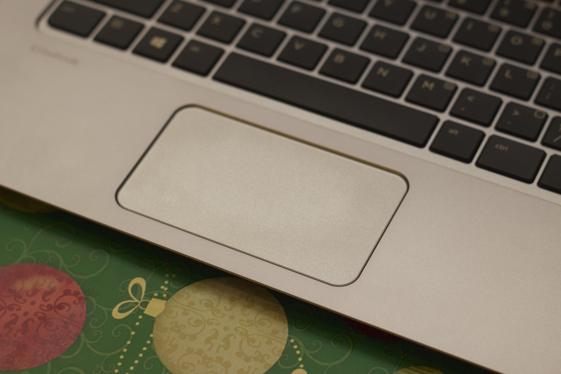 The clickless trackpad is fairly accurate but strange to use.