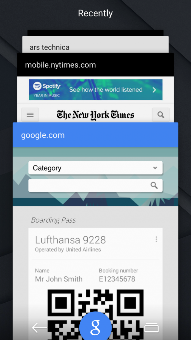 Is this Lollipop, or the Google app for iOS?