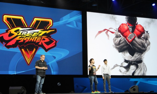 <em>Street Fighter</em> producer Yoshinori Ono reveals the game's first-ever gameplay video.