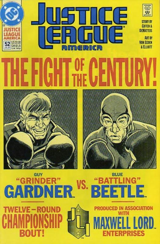 Presented in Justice League America #52, 1991. Written by Keith Giffen and J.M. DeMatteis. Art by Tevor Von Eeden and Randy Elliott.