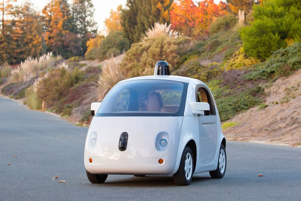 The first road-ready Google-built car.