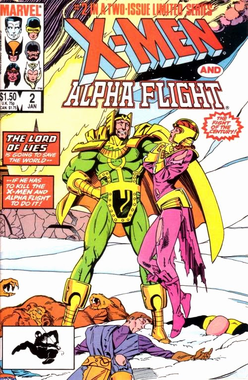Presented in X-Men and Alpha Flight #2, 1985. Written by Chris Claremont. Art by Paul Smith. Inked by Bob Waicek and friends.