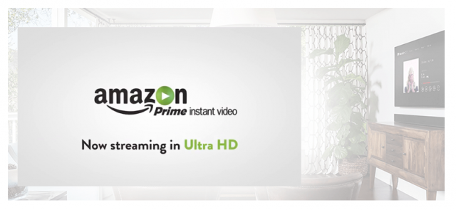 Amazon adds 4K video streaming to list of Prime benefits starting today