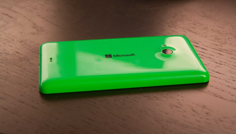 The brand on the back is now Microsoft, not Nokia.