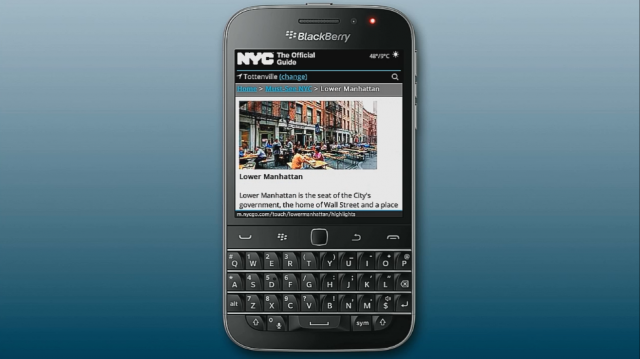 The BlackBerry Classic, an old-school phone released in 2014.