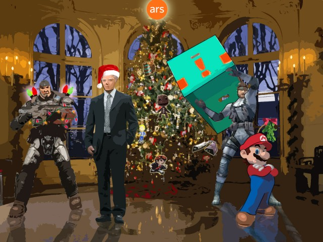 OK, this was technically <a href=&quot;http://arstechnica.com/uncategorized/2008/12/twas-the-night-before-christmas-gamers-remix-2008/&quot;>2008 in gaming</a>... but some faces may be mentioned again.