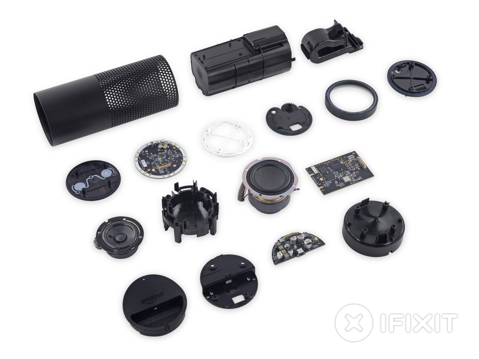 iFixit Amazon Echo teardown reveals a bit of computer, a lot of speaker   Ars Technica