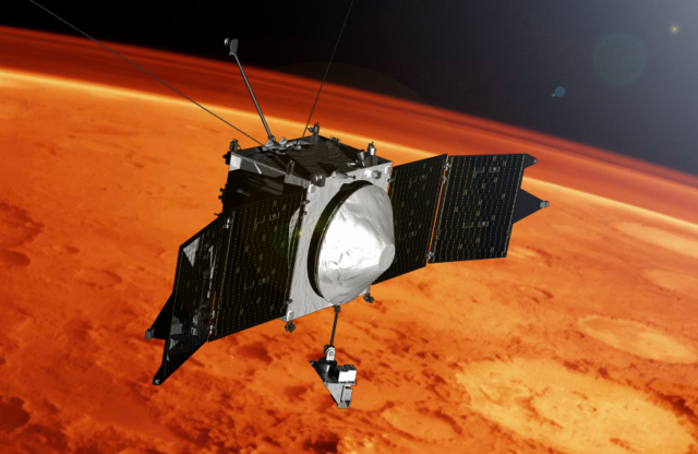 NASA's MAVEN charts a disappearing Martian atmosphere