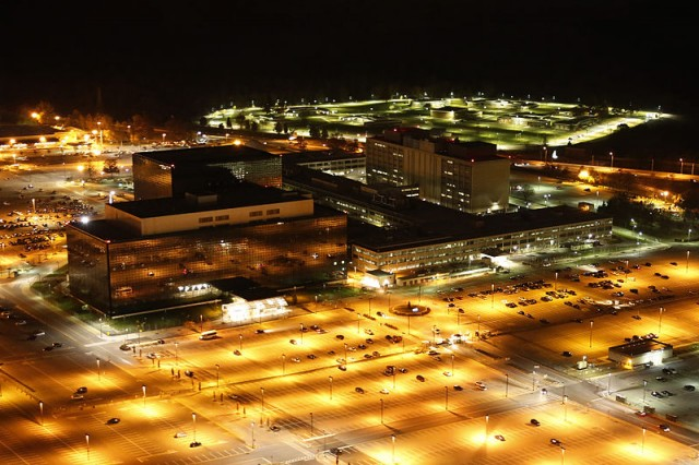 The National Security Agency in Ft. Meade, Maryland.