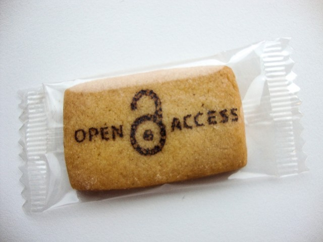 It's open access—so long as you can get through the wrapper.
