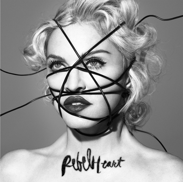 "The album cover for ""Rebel Heart."""