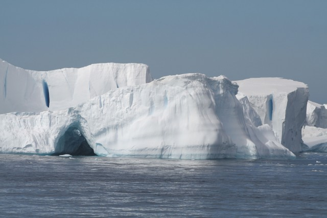 Ice in Antarctica's Weddell Sea.