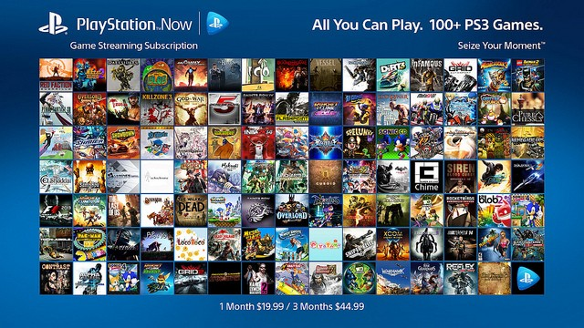 PS Now subscriptions to offer all-you-can-play access starting at $15/month