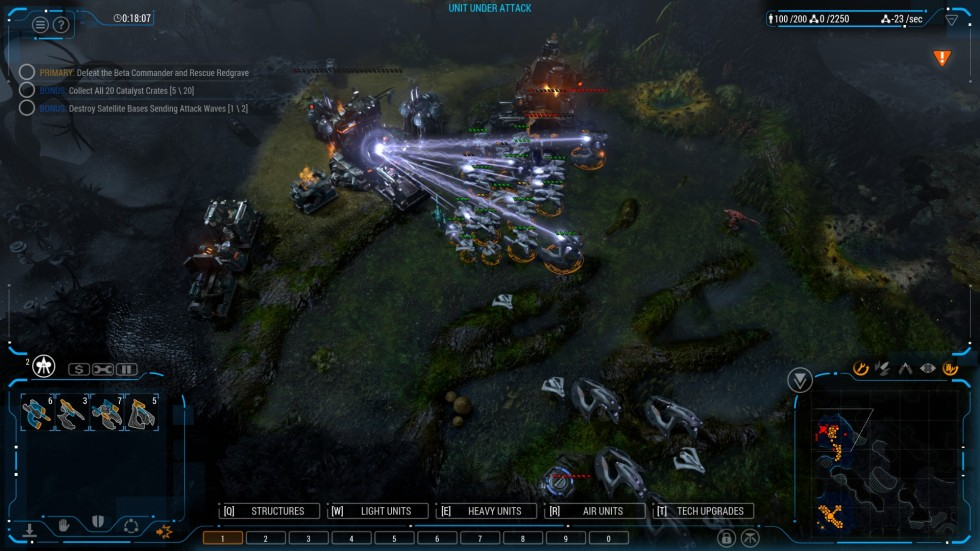 Grey Goo Review: A real-time strategy throwback that moves forward