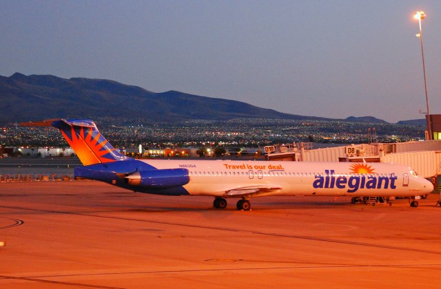 Allegiant Air first officer had to see doctor after laser strike