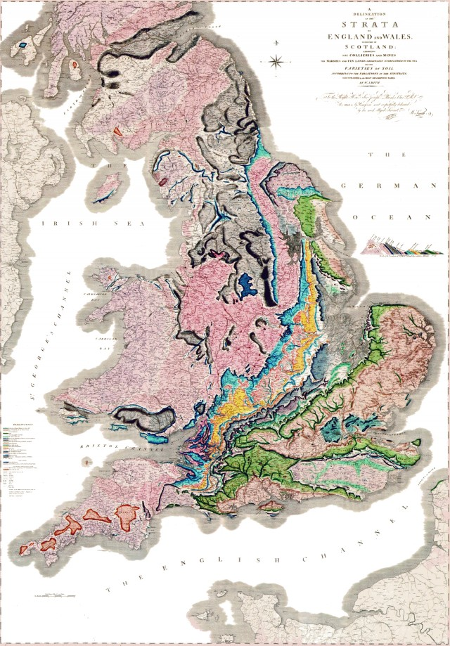 The first major geologic map turns 200