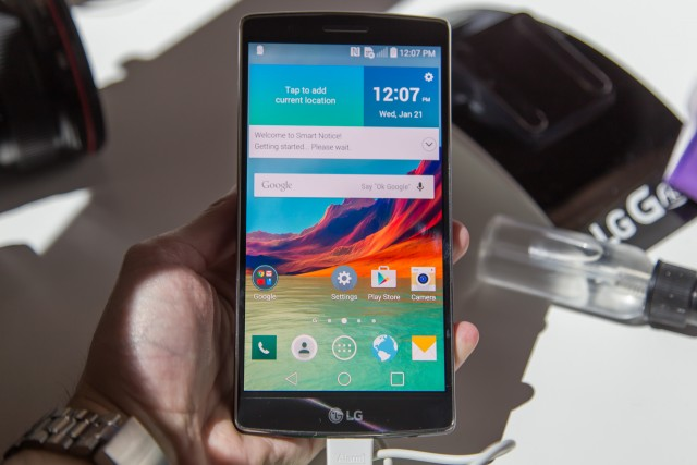 The Snapdragon 810-powered LG G Flex 2.