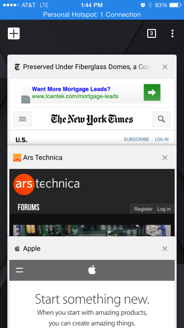 Chrome for iOS is the latest app to go Material.