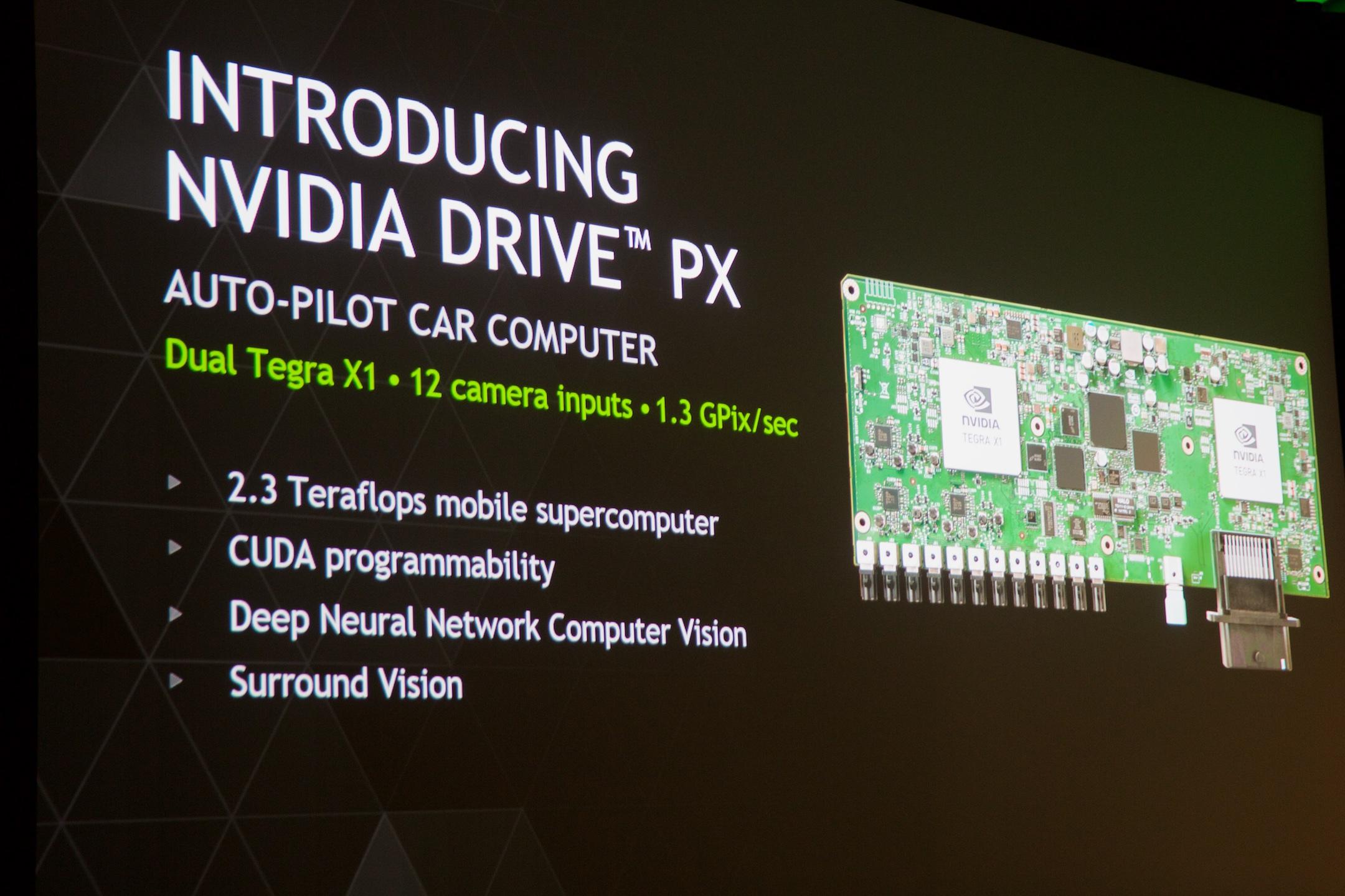 The Nvidia Drive PX.